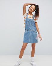 ASOS | Синий джинсовый сарафан ASOS DESIGN - Синий | Clouty