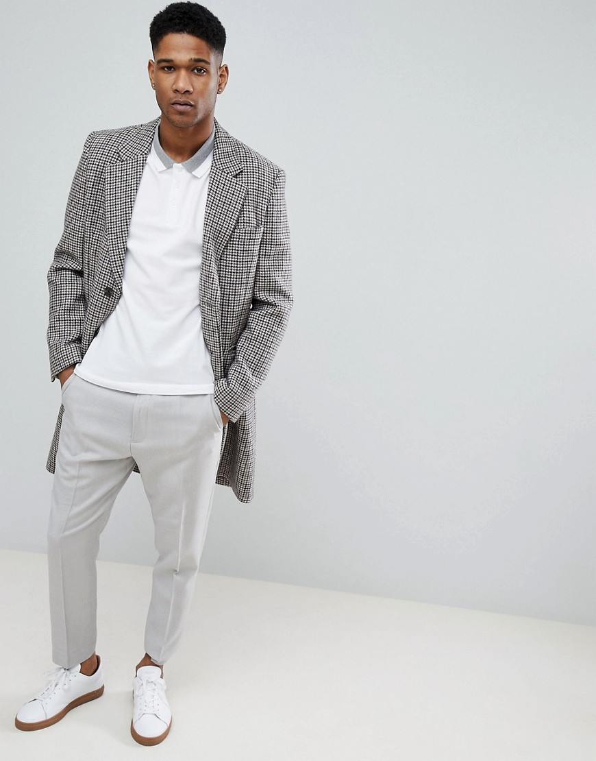 Selected Homme | Футболка-поло с контрастной отделкой Selected Homme - Белый | Clouty