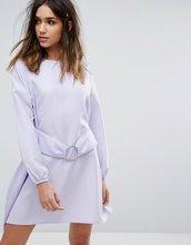 Boohoo | Платье с пышными рукавами Boohoo - Фиолетовый | Clouty