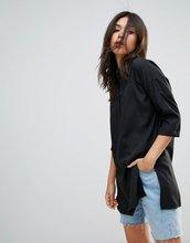 Noisy May | Удлиненная рубашка Noisy May Maci - Черный | Clouty