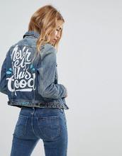 LEE | Джинсовая куртка Lee Conifer Ornamental - Синий | Clouty