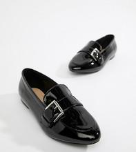 London Rebel   Туфли на плоской подошве для широкой стопы с острым носком London Rebe   Clouty