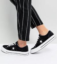CONVERSE | Черные кроссовки Converse One Star Ox - Черный | Clouty