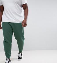 ASOS | Зеленые выбеленные джоггеры заниженного кроя ASOS DESIGN Plus | Clouty
