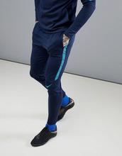 NIKE | Синие джоггеры Nike Football Training Squad Dry Drill 859225-452 - Синий | Clouty