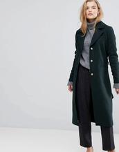 Y.A.S.   Приталенное пальто Y.A.S - Зеленый   Clouty