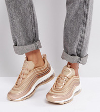 NIKE | Кроссовки металлик Nike Air Max 97 Cashmere - Кремовый | Clouty