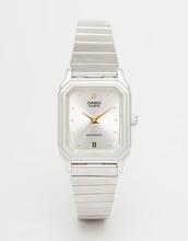 Casio | Часы в винтажном стиле Casio LQ 400D 7AEF - Серебряный | Clouty