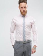 ASOS | Розовая рубашка скинни ASOS - Розовый | Clouty