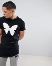 Good For Nothing | Черная облегающая футболка с логотипом Good For Nothing - Черный | Clouty