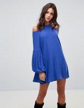 Free People   Платье с круглым вырезом Free People - Синий   Clouty
