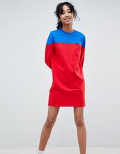 ASOS | Трикотажное платье в стиле колор блок ASOS DESIGN - Мульти | Clouty