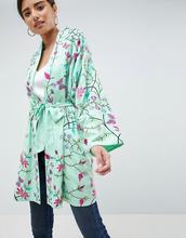 ASOS | Кимоно с вышивкой ASOS DESIGN - Зеленый | Clouty
