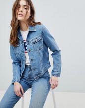 LEE | Джинсовая куртка в стиле 90-х Lee Rider - Синий | Clouty