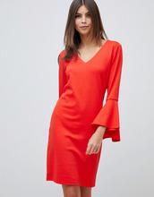 Vila | Платье с рукавами-клеш Vila - Красный | Clouty