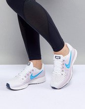 NIKE | Белые кроссовки Nike Running Air Zoom - Белый | Clouty