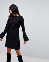 Vila | Платье с рукавами-клеш Vila - Черный | Clouty