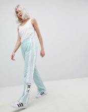 adidas Originals   Спортивные брюки мятного цвета с кнопками adidas Originals adicolor   Clouty