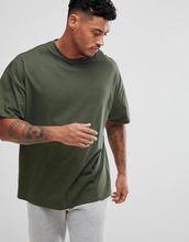 ASOS   Зеленая oversize-футболка ASOS DESIGN - Зеленый   Clouty