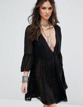 Free People | Декорированное платье для вечеринок Free People Winter Solstice | Clouty