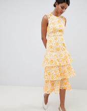 Keepsake | Кружевное платье миди Keepsake - Желтый | Clouty