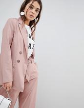 New Look | Двубортный блейзер New Look - Розовый | Clouty