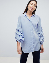 Ax Paris | Рубашка в полоску AX Paris - Синий | Clouty