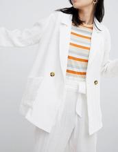Monki   Oversize-блейзер Monki - Белый   Clouty