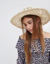 Glamorous | Соломенная шляпа Glamorous - Бежевый | Clouty