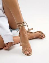 SIMMI Shoes | Simmi Vanessa snake clear detail heeled sandals - Черный | Clouty