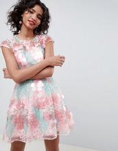 ASOS | Короткое приталенное платье с пайетками ASOS EDITION - Мульти | Clouty
