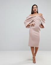 ASOS | Платье миди с открытыми плечами ASOS EDITION - Белый | Clouty