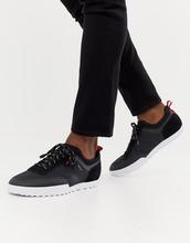 HUGO | Черные кроссовки с замшевыми вставками HUGO Matrix - Черный | Clouty