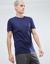 Selected Homme | Футболка из эластичного меланжевого хлопка Selected Homme | Clouty