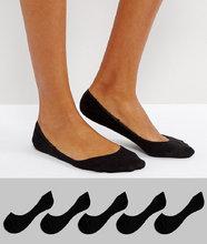 ASOS | Набор из 5 пар носков ASOS DESIGN - Черный | Clouty