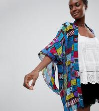Anna Sui | Эксклюзивное кимоно с надписью Anna Sui - Мульти | Clouty