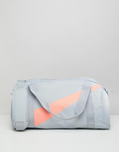 NIKE | Серо-розовая спортивная сумка Nike - Серый | Clouty