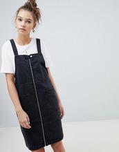 Only | Джинсовое платье на молнии Only - Черный | Clouty