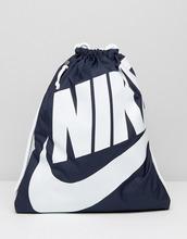 NIKE | Синий рюкзак на шнурке Nike Heritage BA5351-451 - Синий | Clouty