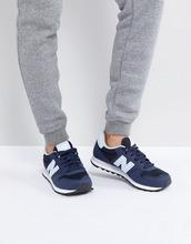 New Balance | Синие кроссовки New Balance 500 - Синий | Clouty