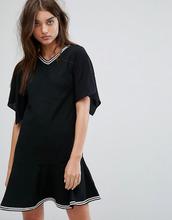 AllSaints | Платье с заниженной талией AllSaints Alice - Черный | Clouty