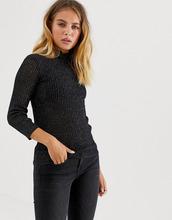AllSaints | Легкий джемпер с эффектом металлик AllSaints - Черный | Clouty
