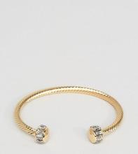 Designb London | Золотистый браслет-манжета DesignB эксклюзивно для ASOS - Золотой | Clouty