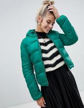 bershka   Легкая дутая куртка зеленого цвета Bershka - Зеленый   Clouty
