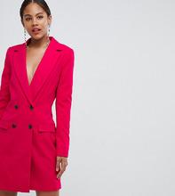 ASOS | Удлиненный блейзер ASOS TALL Tailored - Розовый | Clouty