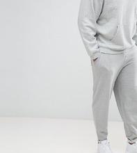 ASOS   Серые меланжевые джоггеры ASOS DESIGN Plus - Серый   Clouty