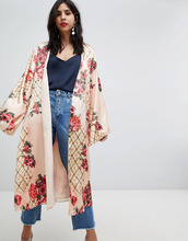 ASOS | Мягкое кимоно с принтом ASOS DESIGN - Мульти | Clouty