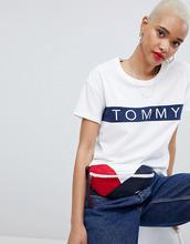 TOMMY Jeans | Футболка в полоску Tommy Jeans - Белый | Clouty