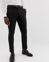 Selected Homme | Узкие эластичные брюки Selected Homme - Черный | Clouty