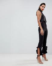 ASOS | Расклешенные брюки слим ASOS Tailored - Черный | Clouty